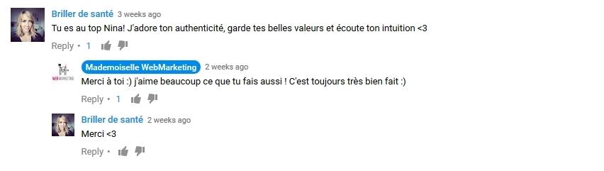 Avis Mademoiselle Marketing
