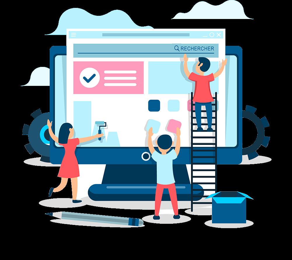 automatisation création de sites