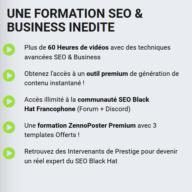 formation black hat seo
