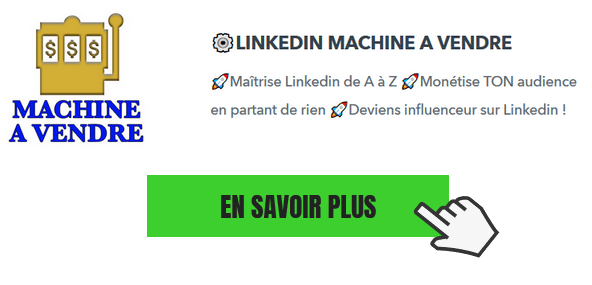 formation linkedin machine a vendre julien sicard