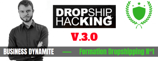 avis formation Dropship Hacking de Business Dynamite